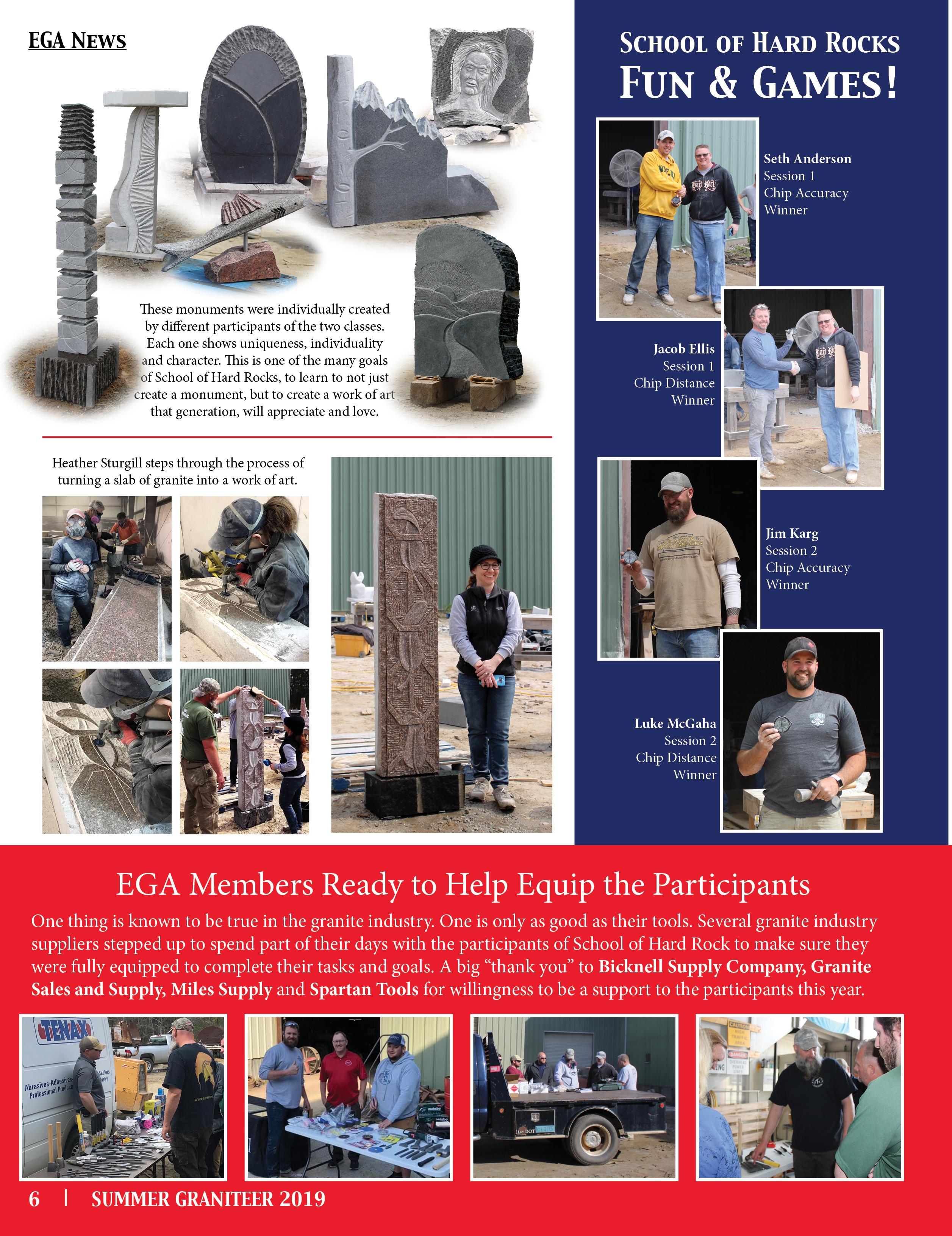 Graniteer Magazine | EGA Online