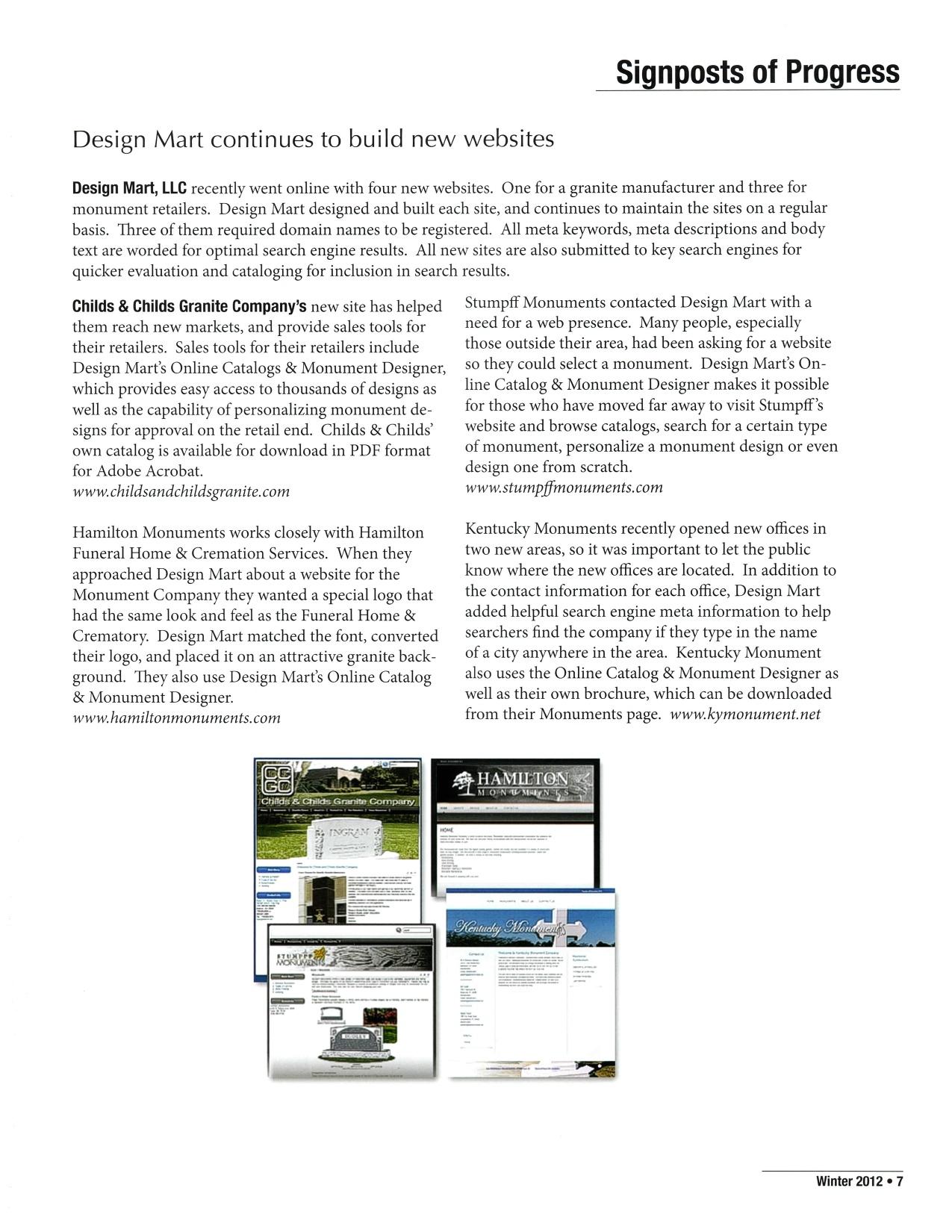 Winter 2012 | EGA Online