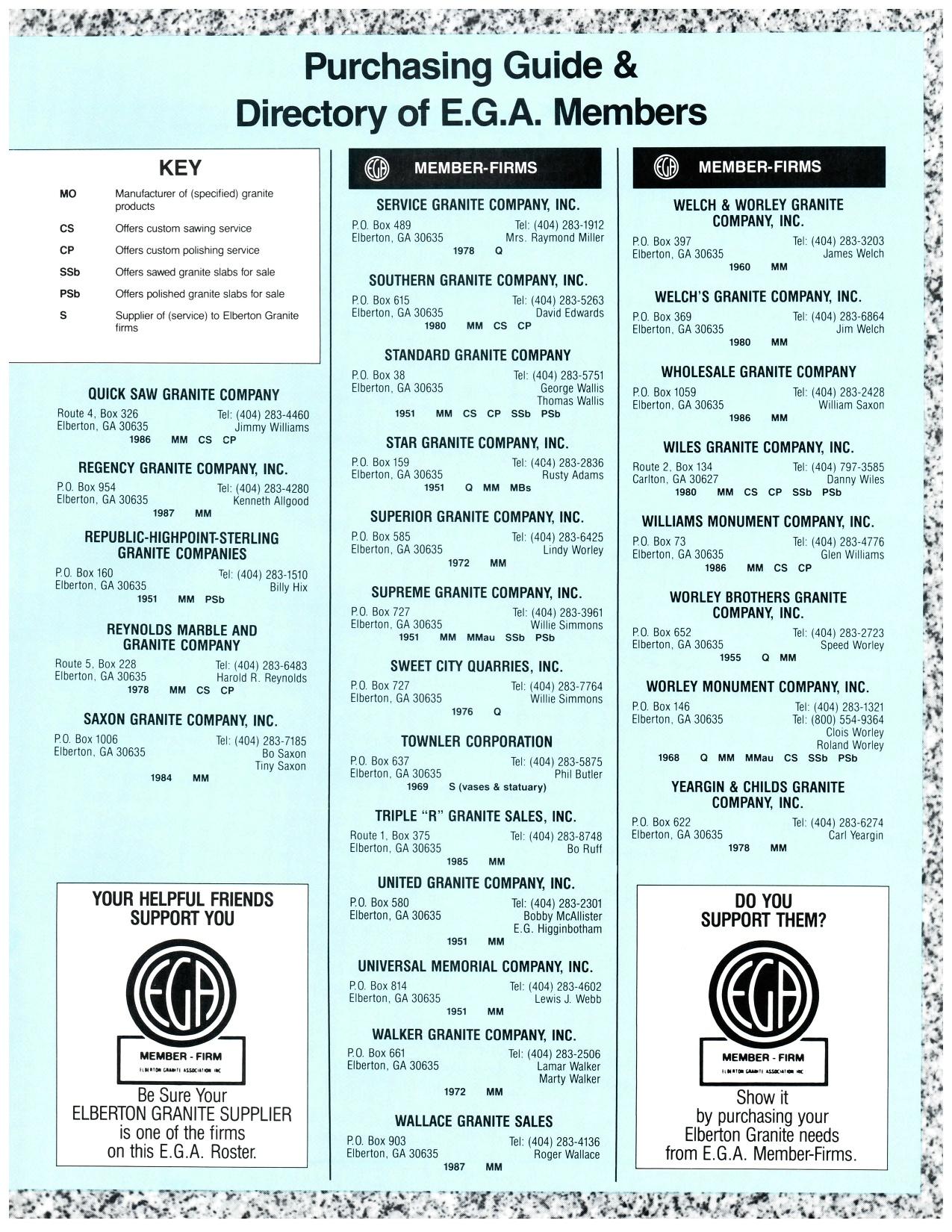 Fall 1987 | EGA Online